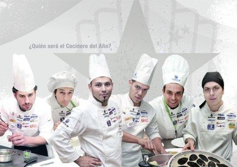 Aspirantes a cocinero del año 2012