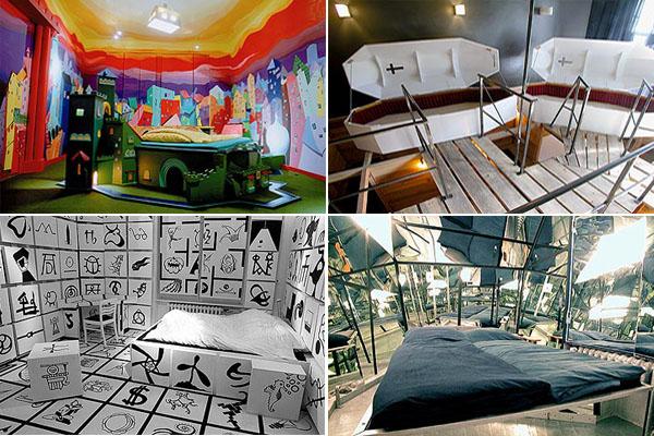 5 hoteles singulares 7 pecados digitales for Hoteles diseno berlin