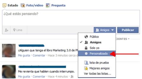 Img - uso de listas en FB