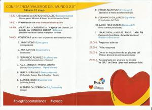 Programa #blogtripcostablanca