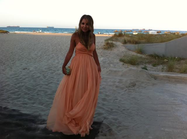 Vestidos para invitadas boda en la playa 2012